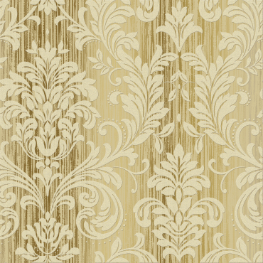 European style big flowers sprinkled gold wallcovering