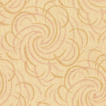 Italian design abstract flowers wallcovering