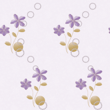 natural light color small flowers wallcovering