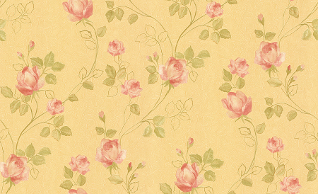 natural flowers home interior wallcovering