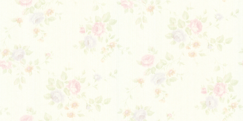 beautiful flowers light color wallcovering