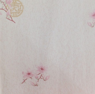 Chinese style flower pattern wallcovering