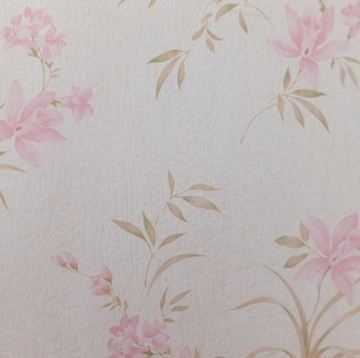 elegant fadshion flowers bedroom decoration wallcovering