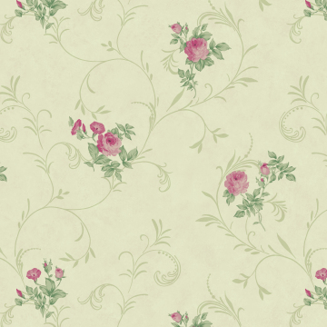 fresh and elegant floral wallpaper