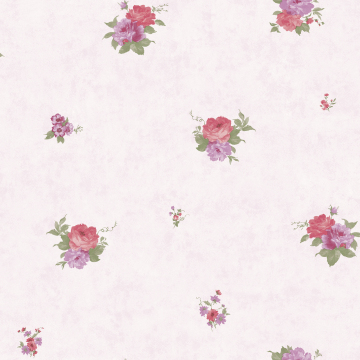 beautiful small flowers room decoration wallpaper